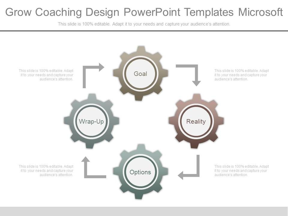 Grow coaching design powerpoint templates microsoft for Grow coaching template