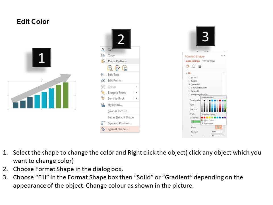 how to change the background color in openoffice presentation