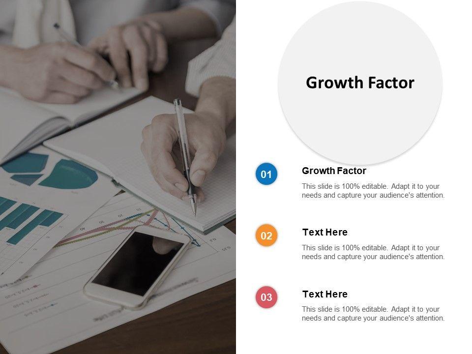 Growth Factor Ppt Powerpoint Presentation Summary Slide Portrait Cpb