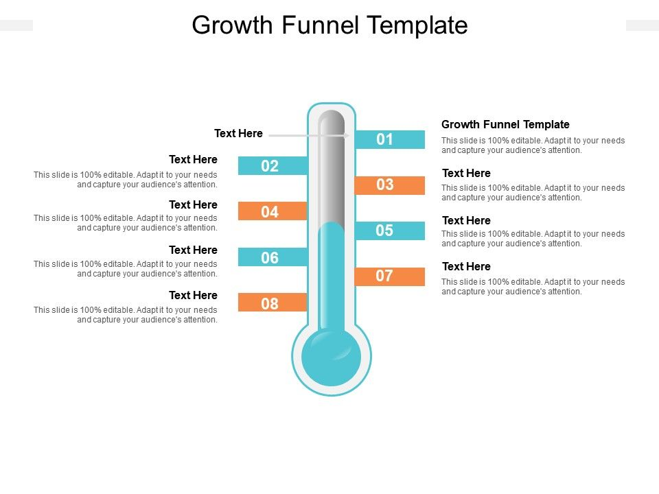 Growth Funnel Template Ppt Powerpoint Presentation Summary Design Templates Cpb