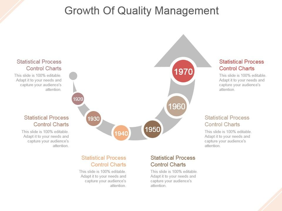 Growth Of Quality Management Sample Of Ppt Presentation | PowerPoint