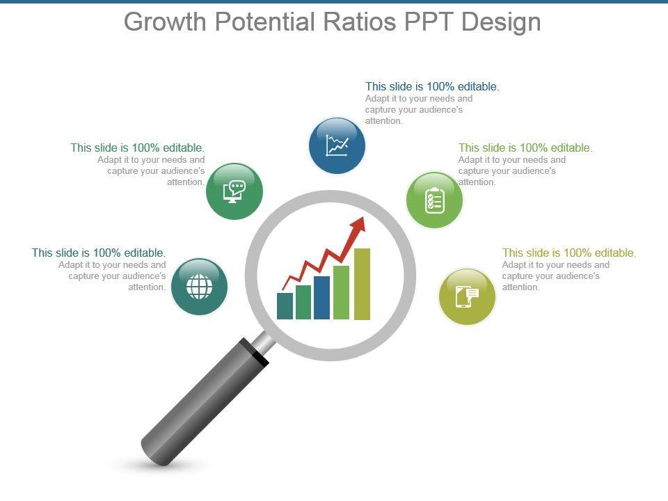 growth_potential_ratios_ppt_design_Slide01