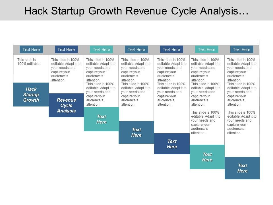 hack_startup_growth_revenue_cycle_analysis_product_segmentation_cpb_Slide01