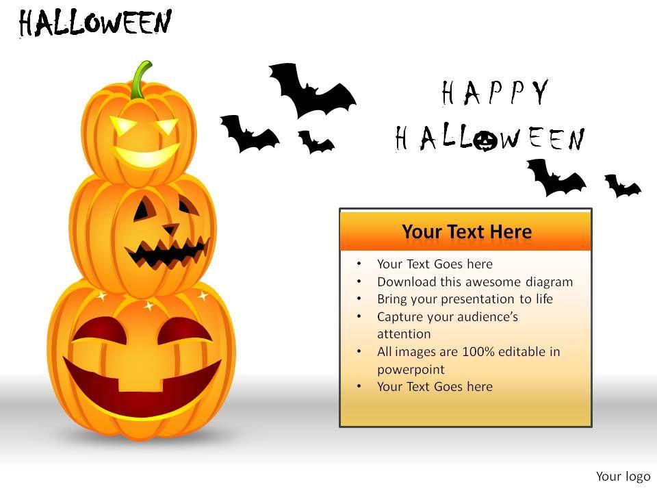 halloween powerpoint presentation slides templates powerpoint