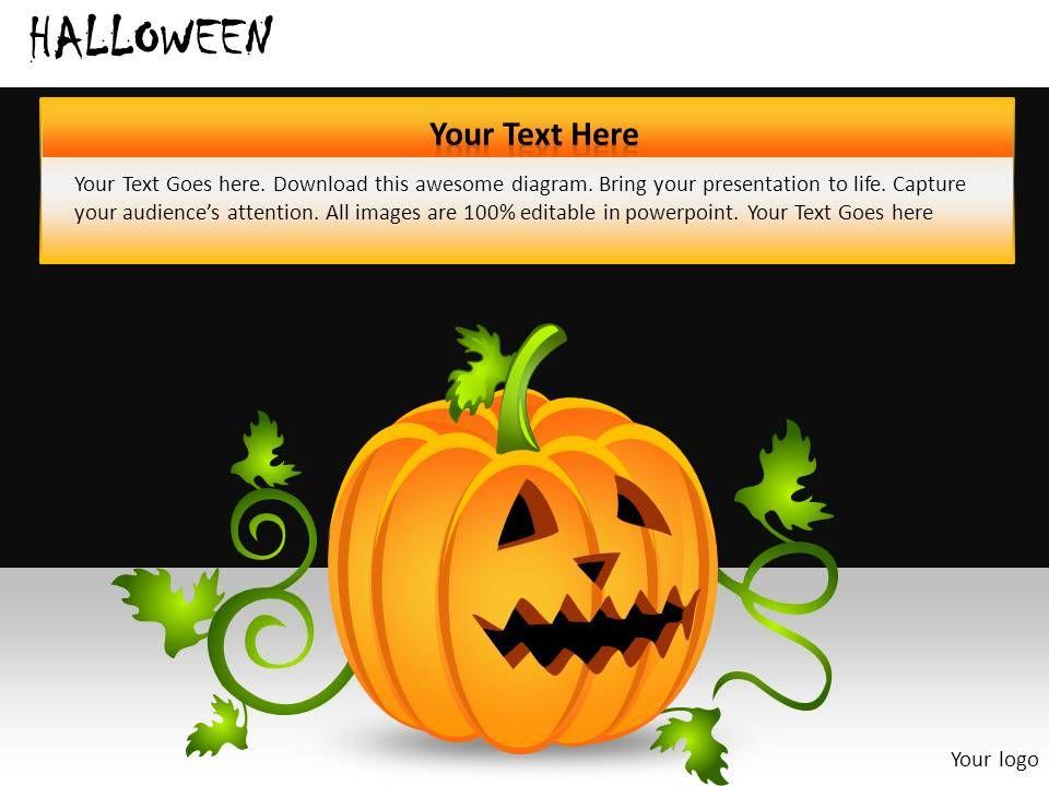 halloween powerpoint presentation slides db powerpoint