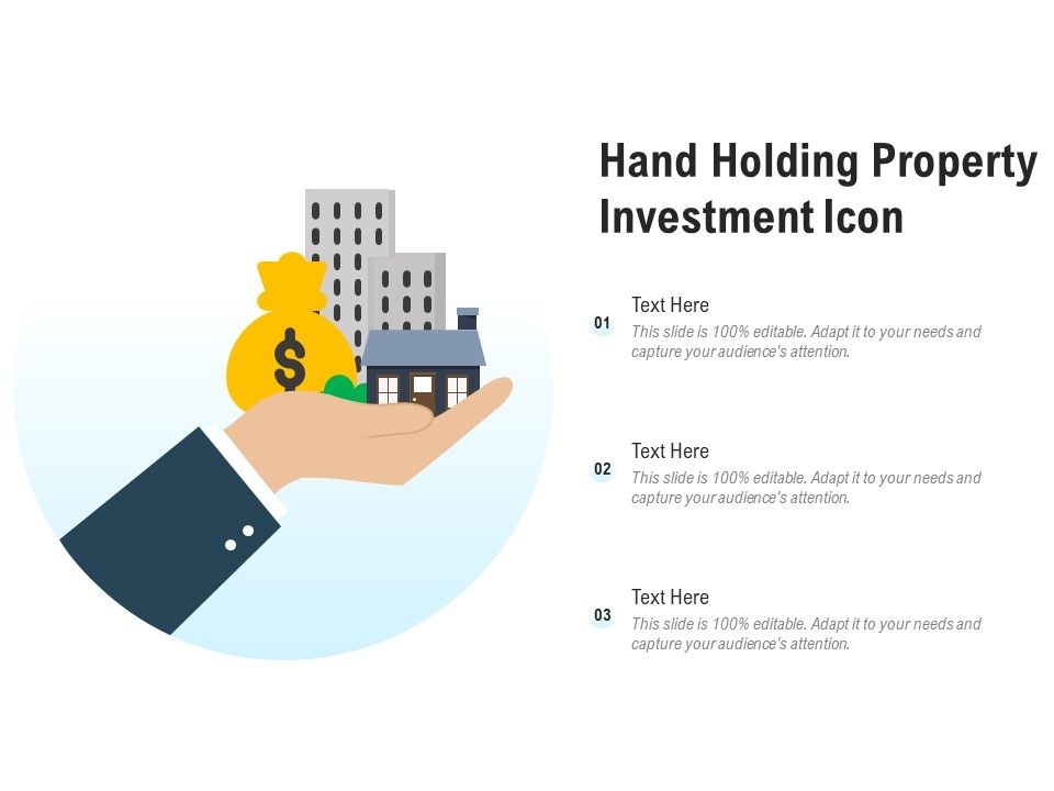 Hand Holding Property Investment Icon