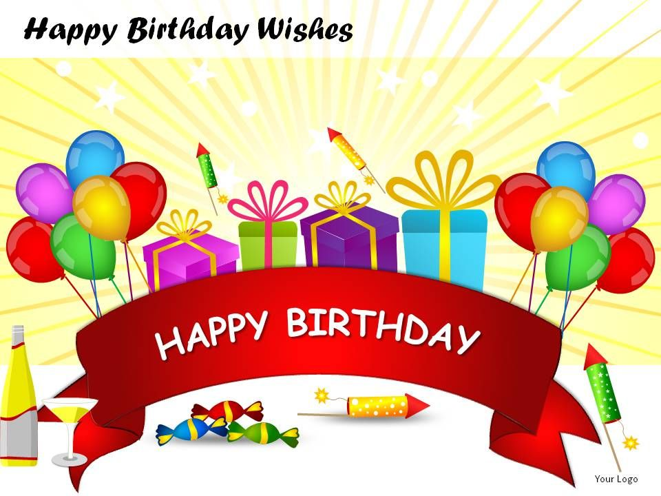 happy birthday wishes powerpoint presentation slides presentation