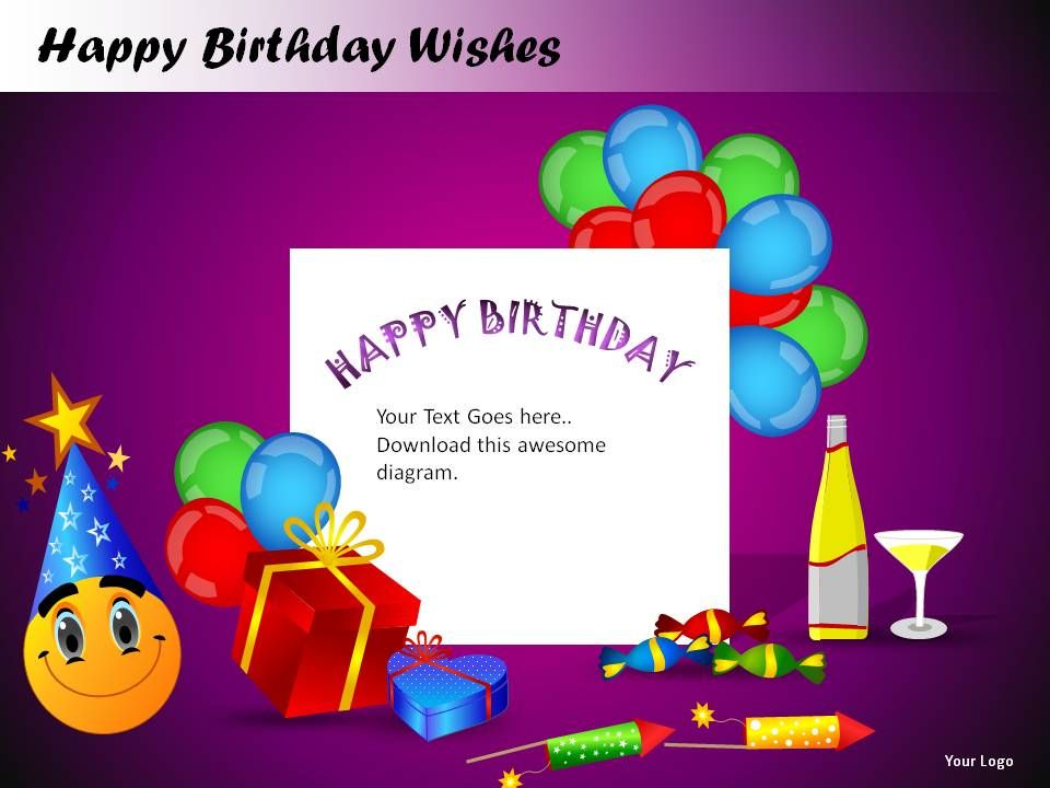 Happy Birthday Wishes Powerpoint Presentation Slides | Presentation
