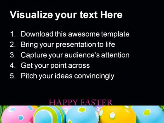 Happy Easter Festival PowerPoint Templates And PowerPoint – Sample Easter Powerpoint Template