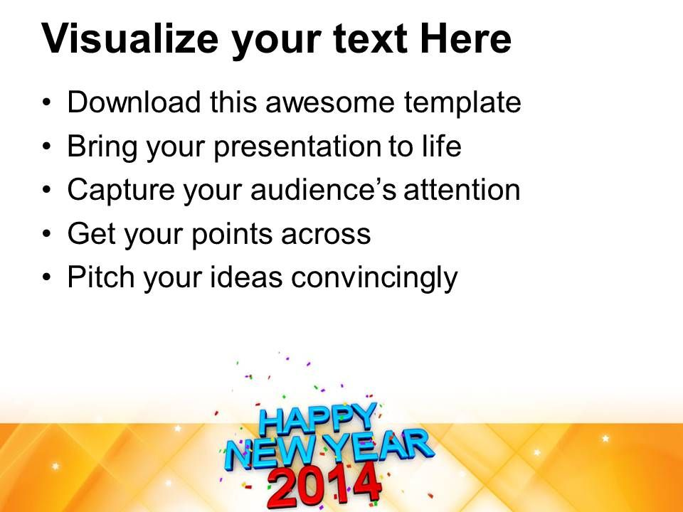 Happy new year 2014 concept powerpoint templates ppt backgrounds for happynewyear2014conceptpowerpointtemplatespptbackgroundsforslides1113slide02 toneelgroepblik Gallery