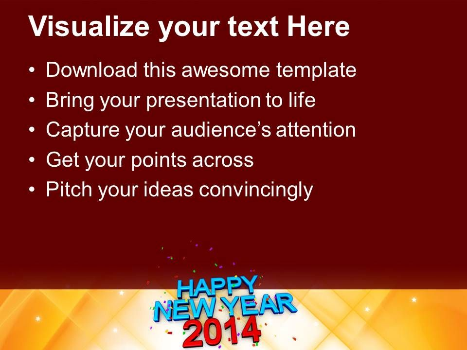 Happy new year 2014 concept powerpoint templates ppt backgrounds for happynewyear2014conceptpowerpointtemplatespptbackgroundsforslides1113slide03 toneelgroepblik Gallery