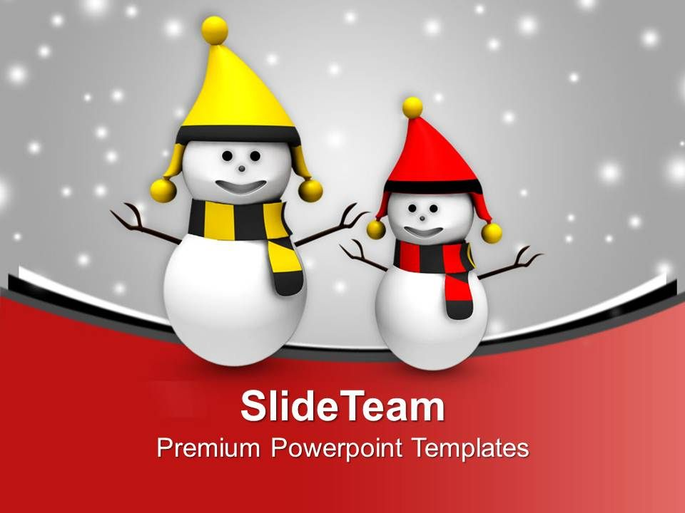 happy_snowmen_on_christmas_background_powerpoint_templates_ppt_themes_and_graphics_Slide01