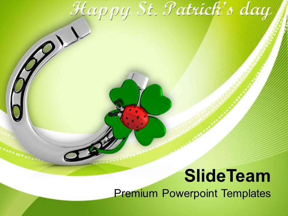 happy_st_patricks_day_shamrock_with_lucky_symbol_templates_ppt_backgrounds_for_slides_Slide01
