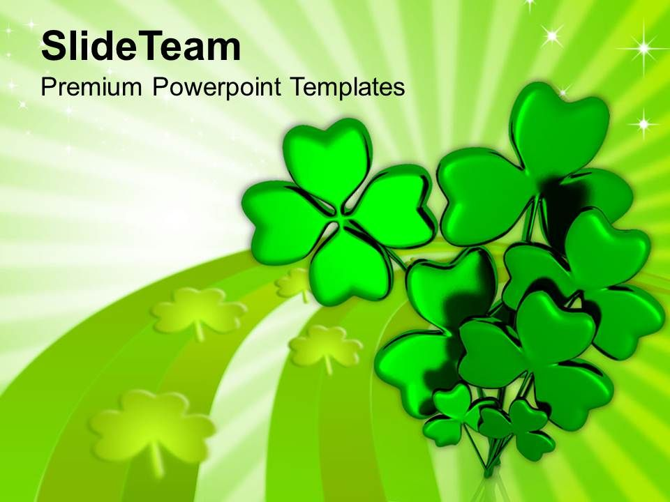 happy_st_patricks_day_shamrock_with_message_templates_ppt_backgrounds_for_slides_Slide01