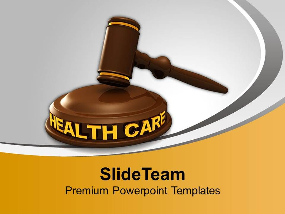 Health Care Law Powerpoint Templates Ppt Backgrounds For