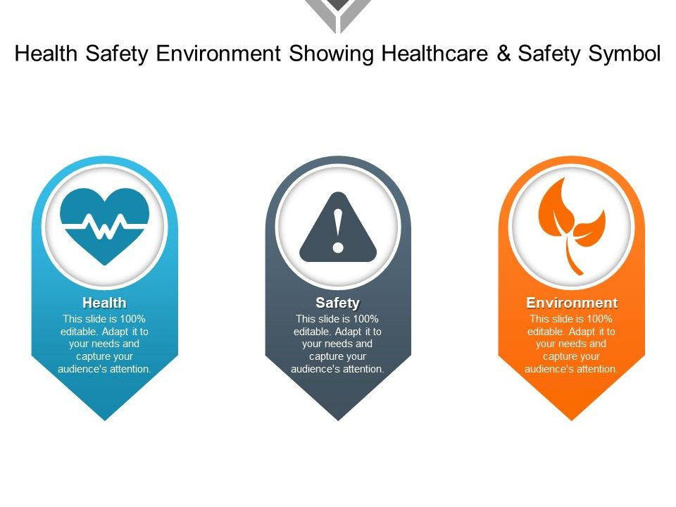 Health Safety Environment Showing Healthcare And Safety