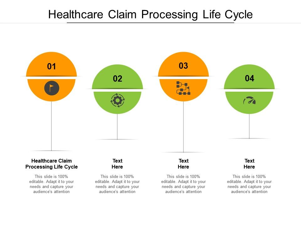 Healthcare Claim Processing Life Cycle Ppt Powerpoint Presentation Icon Cpb