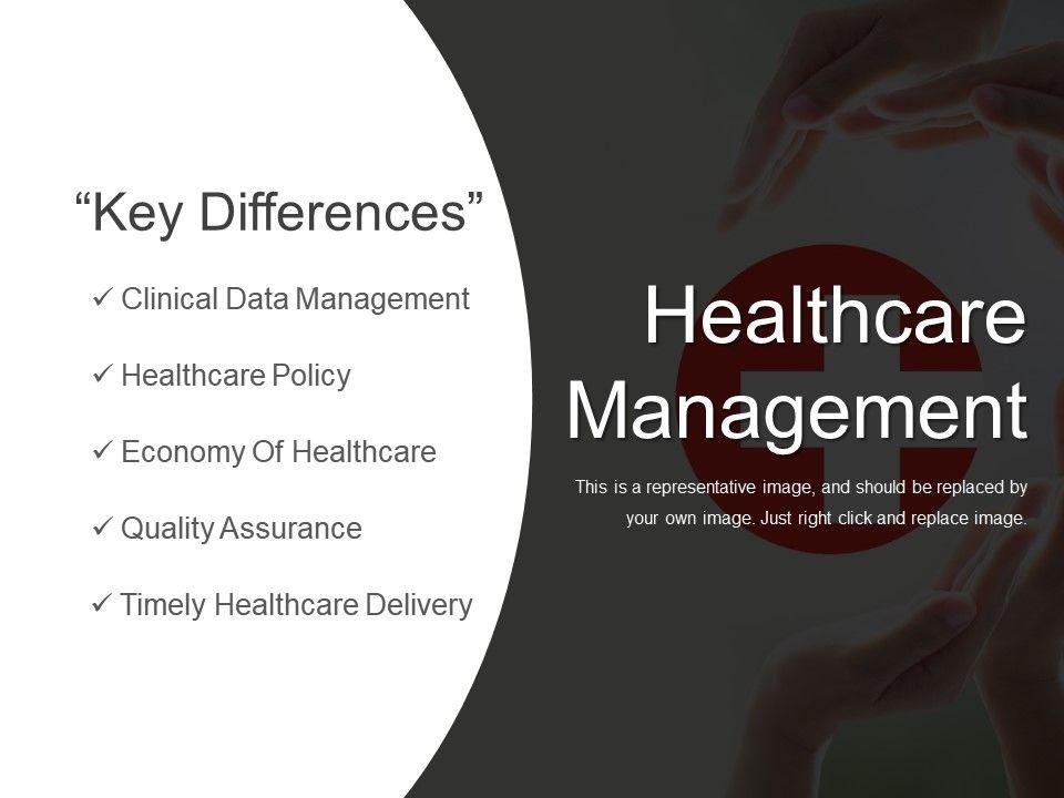 Healthcare Management Presentation Slides Powerpoint Slide