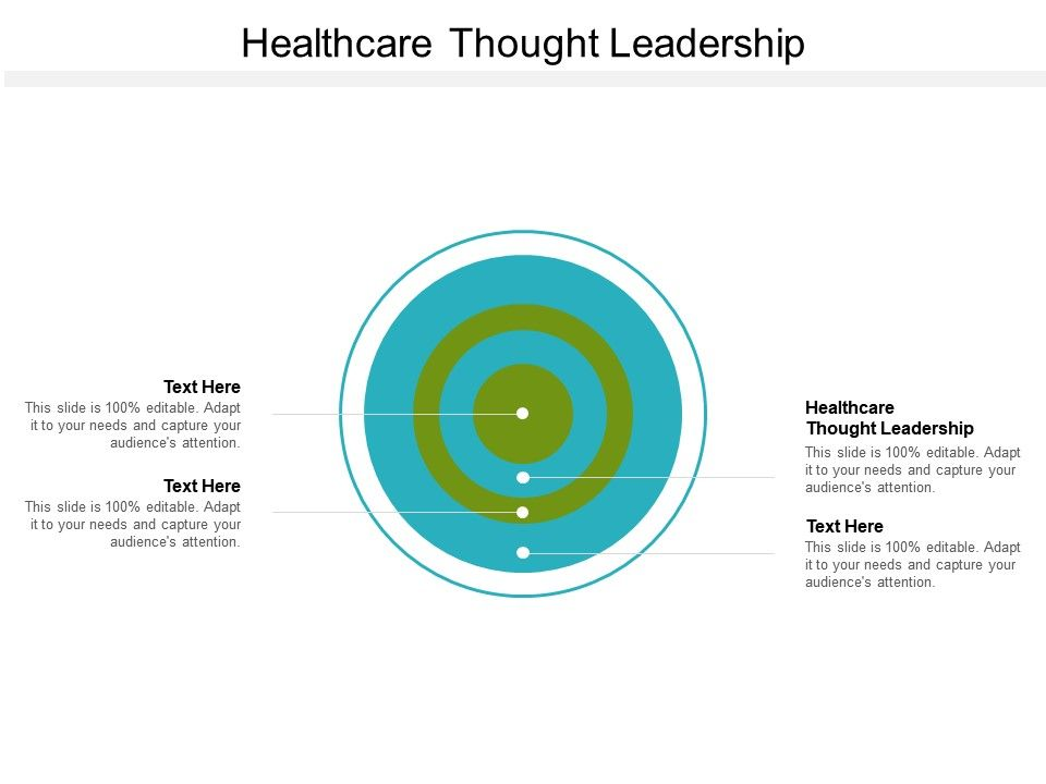 Healthcare Thought Leadership Ppt Powerpoint Presentation Outline Example Topics Cpb