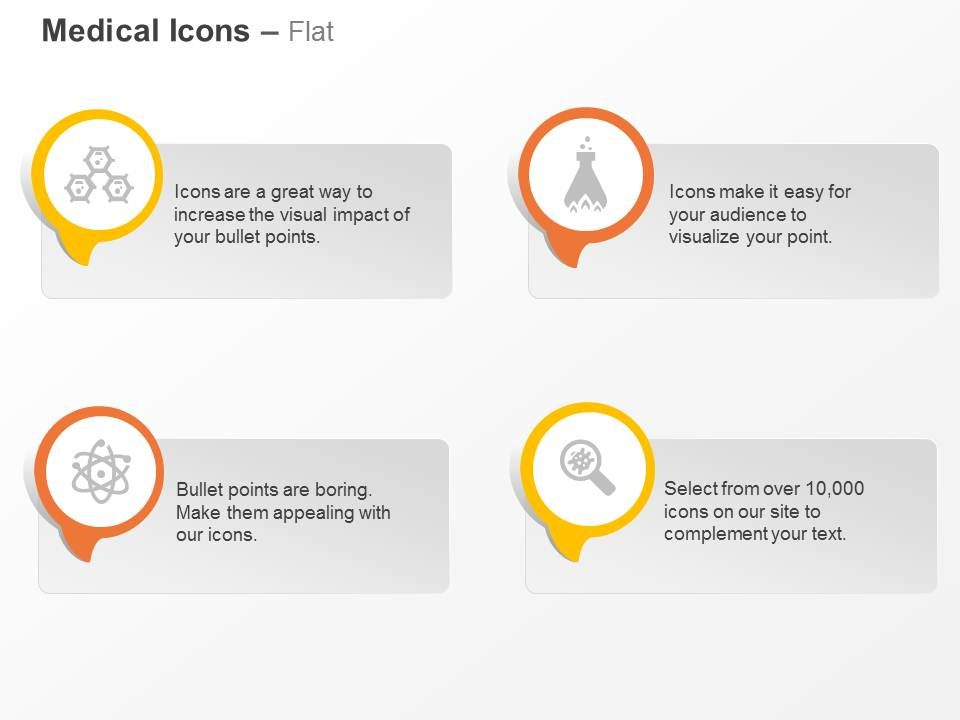 hexagonal_structure_flask_atoms_magnifier_ppt_icons_graphics_Slide01