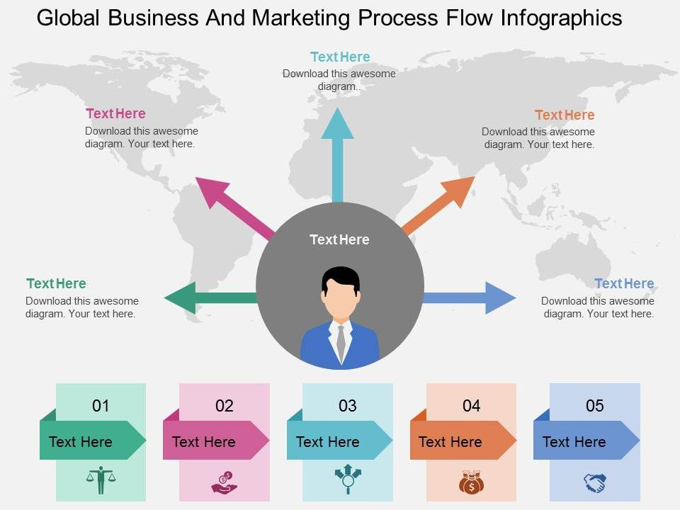 infographic process flow