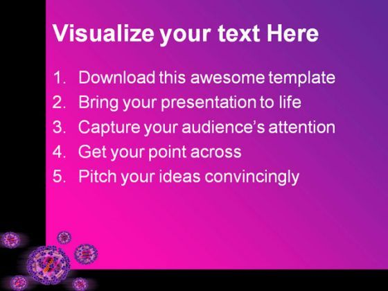 Hi Virus Medical Powerpoint Templates And Powerpoint Backgrounds