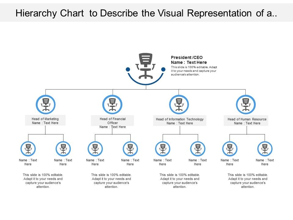 hierarchy_chart_to_describe_the_visual_representation_of_a_business_system_of_hierarchy_Slide01