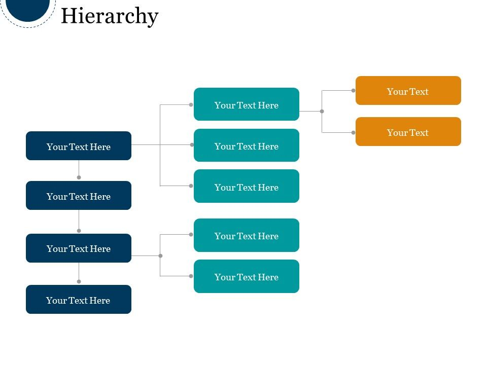 hierarchy good ppt example powerpoint design template sample