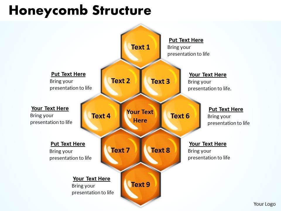 honeycomb_structure_powerpoint_slides_presentation_diagrams_templates_Slide01