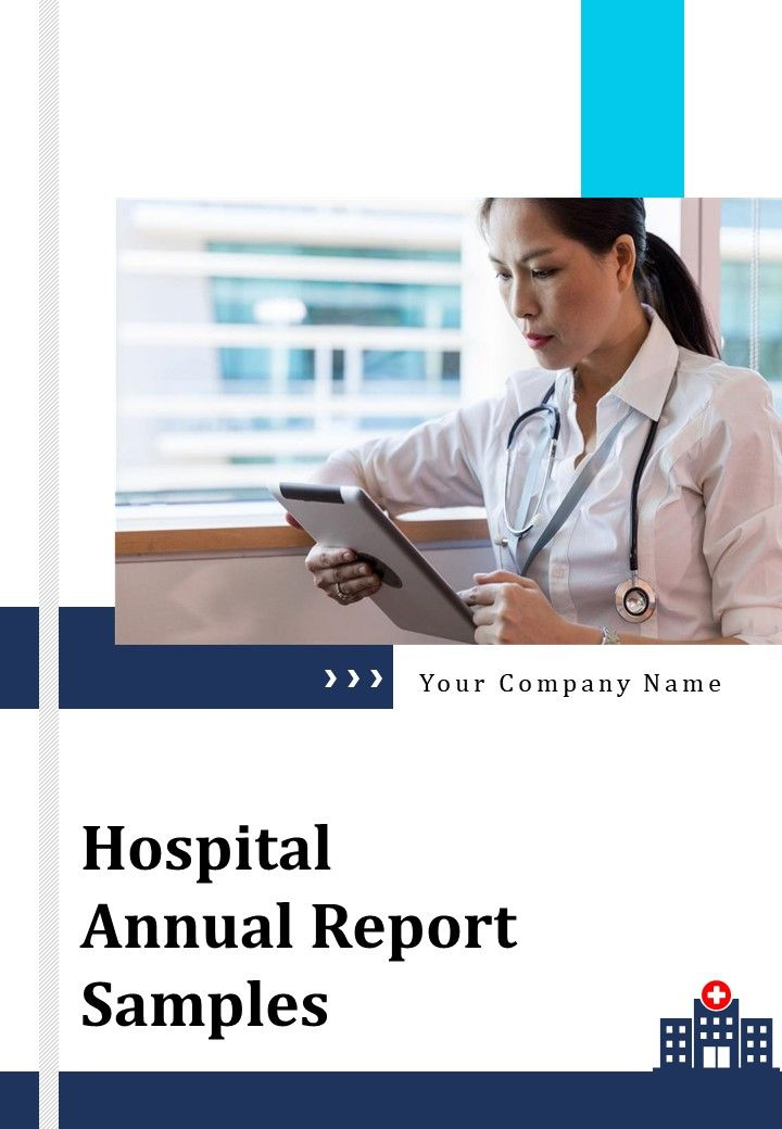 Hospital Annual Report Samples PDF DOC PPT Document Report Template