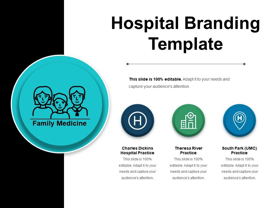 Hospital Branding Template Powerpoint Images Powerpoint