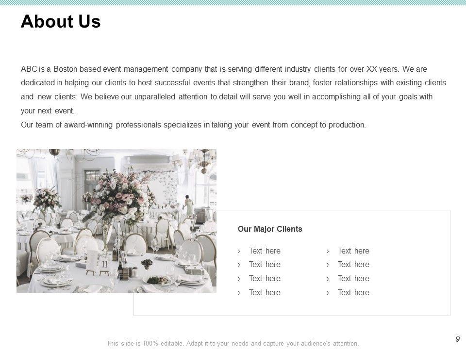 Hotel Event Venue Proposal Template Powerpoint Presentation Slide Diagram Ppt Sample Infographics Management Dissertation