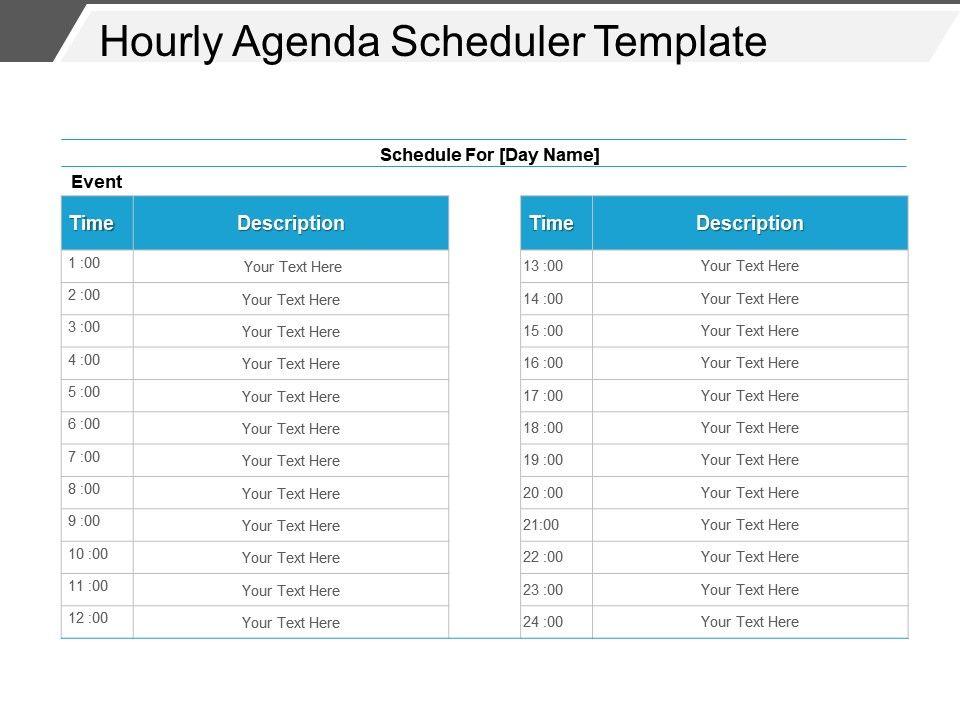 hourly_agenda_scheduler_template_powerpoint_images_Slide01