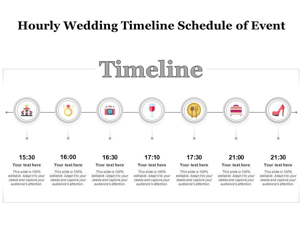 Wedding Timeline Template Excel from www.slideteam.net