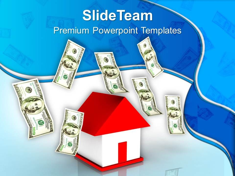 house_and_dollar_notes_finance_business_powerpoint_templates_ppt_themes_and_graphics_0113_Slide01