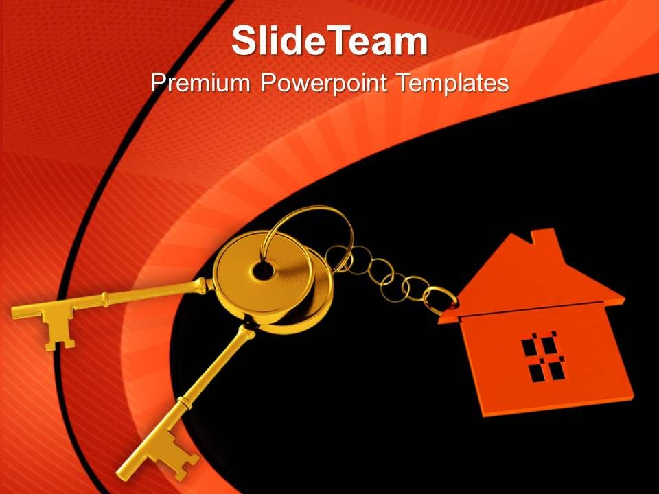 house_locked_with_key_security_powerpoint_templates_ppt_themes_and_graphics_0213_Slide01
