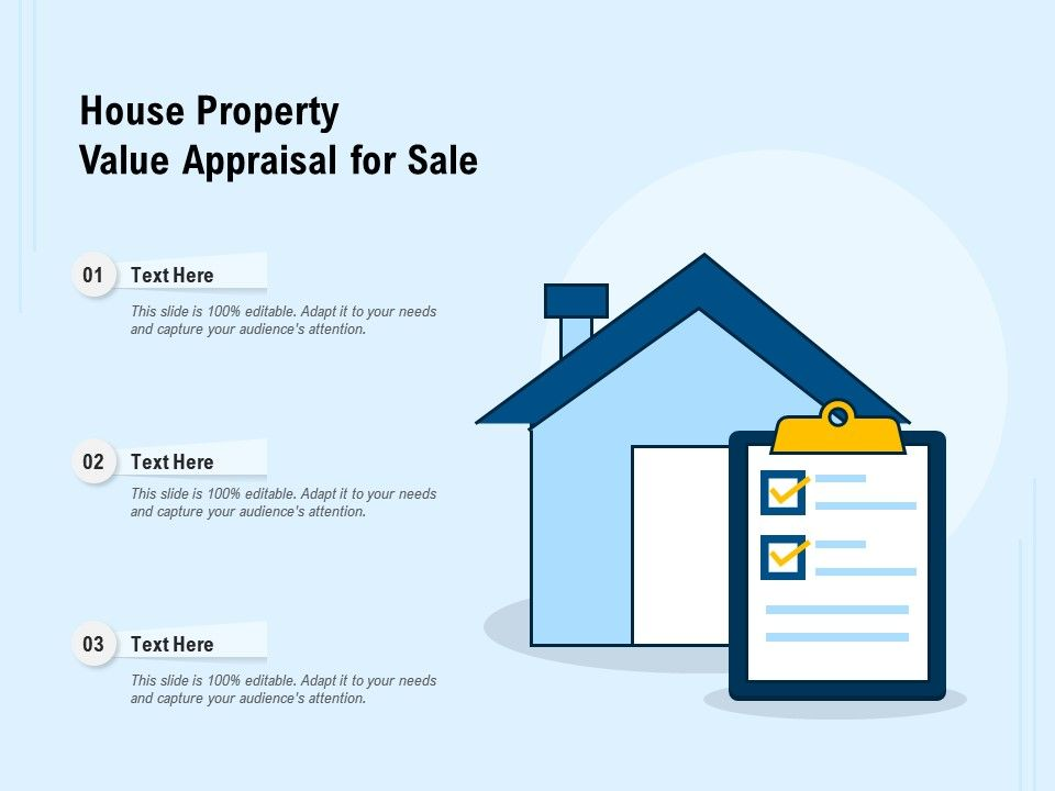 House Property Value Appraisal For Sale