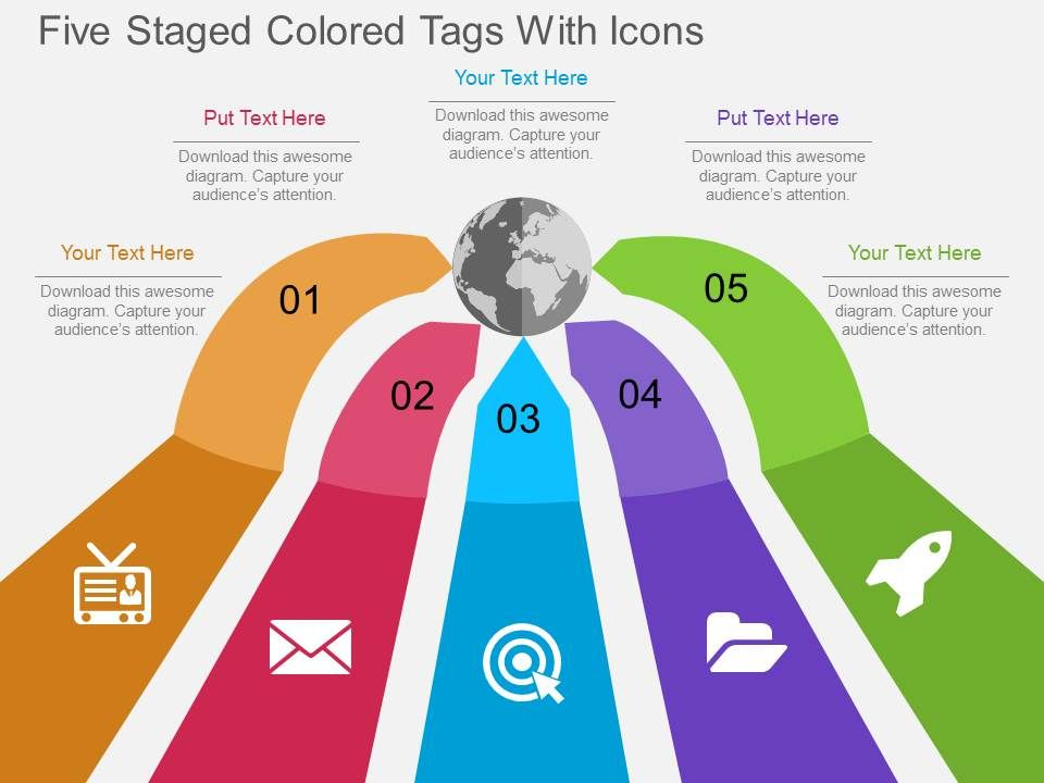 hp five staged colored tags with icons flat powerpoint design HP AC Diagram hp_five_staged_colored_tags_with_icons_flat_powerpoint_design_slide01 hp_five_staged_colored_tags_with_icons_flat_powerpoint_design_slide02
