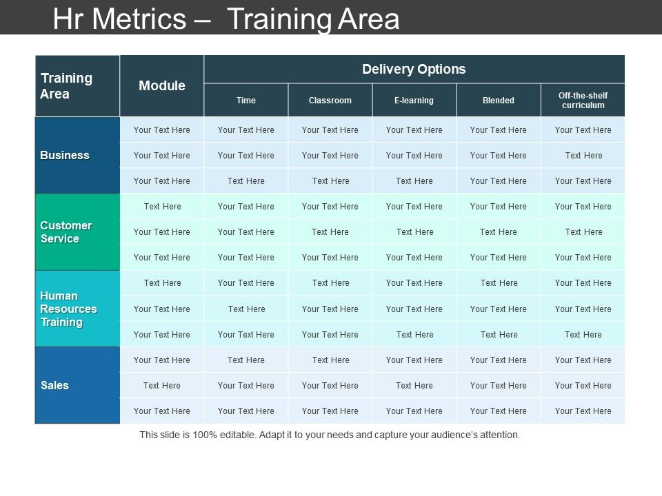 Hr Metrics Training Area Ppt Sample File | PowerPoint Shapes ...