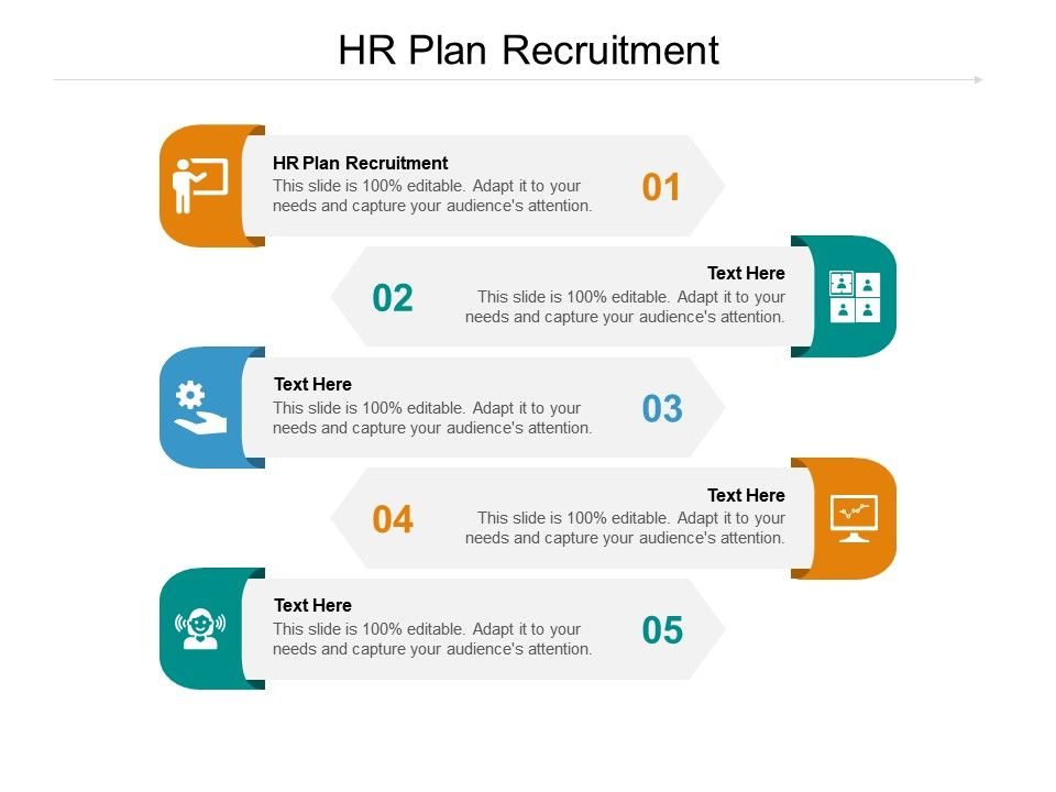 HR Plan Recruitment Ppt Powerpoint Presentation Gallery Example Cpb
