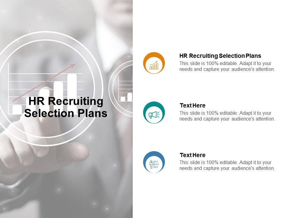 HR Recruiting Selection Plans Ppt Powerpoint Presentation Gallery Designs Cpb