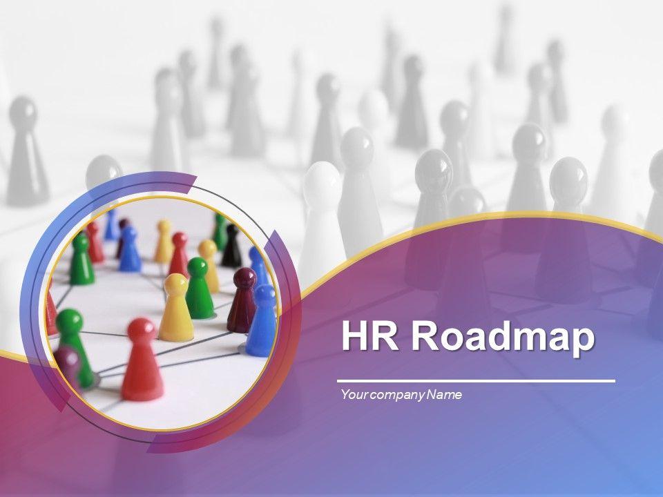 Hr Roadmap Powerpoint Presentation Slides Powerpoint Shapes Powerpoint Slide Deck Template Presentation Visual Aids Slide Ppt