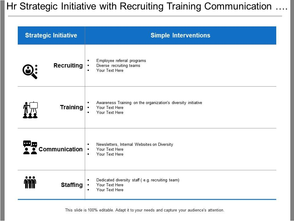 hr_strategic_initiative_with_recruiting_training_communication_and_staffing_Slide01