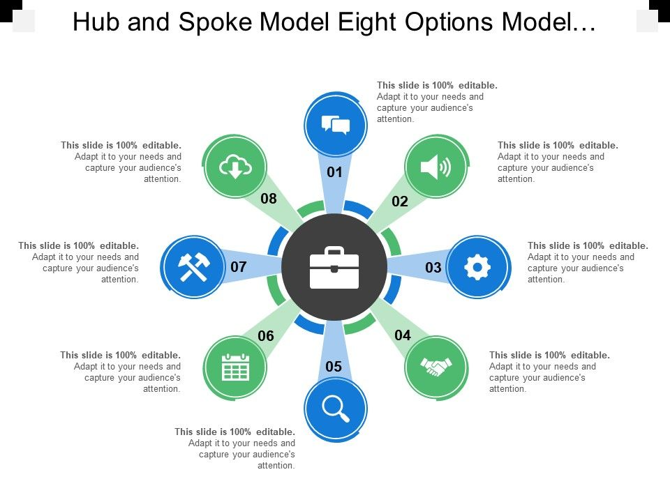 hub_and_spoke_model_eight_options_model_text_holders_icons_Slide01