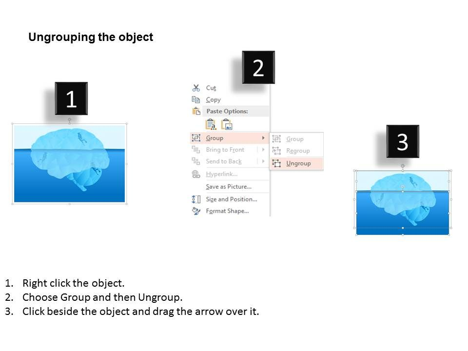 iceberg diagram for scuba diving powerpoint templates powerpoint