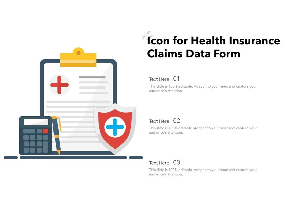 Icon For Health Insurance Claims Data Form