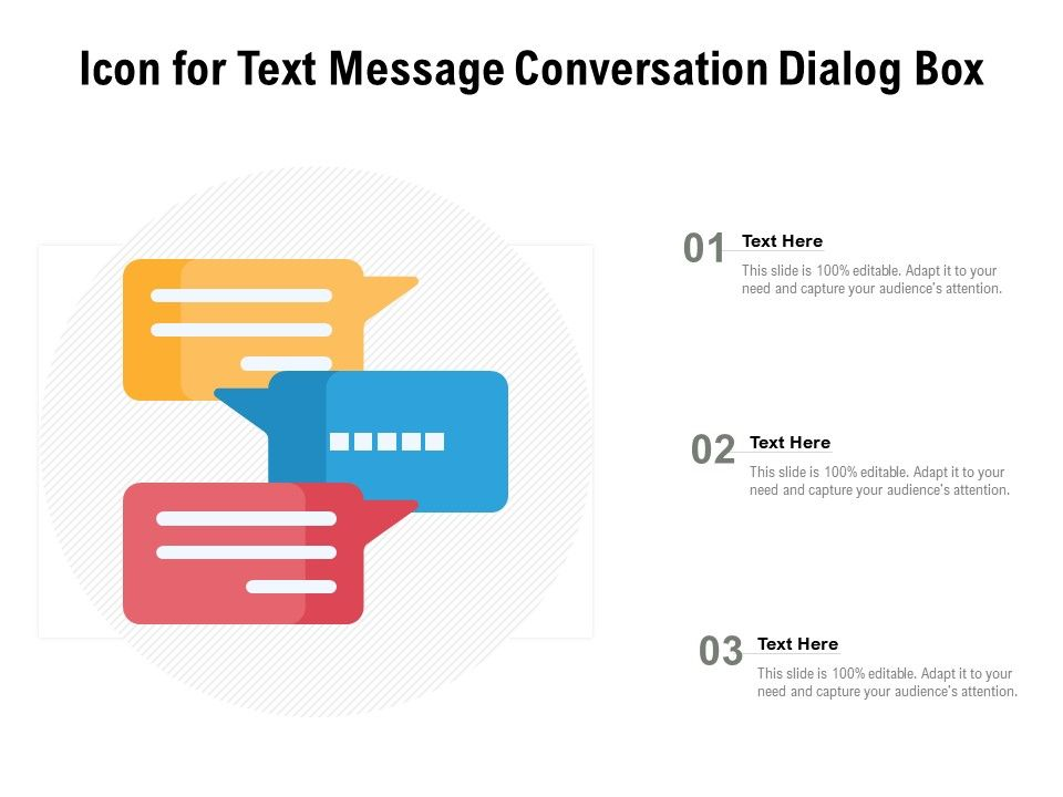 Icon For Text Message Conversation Dialog Box