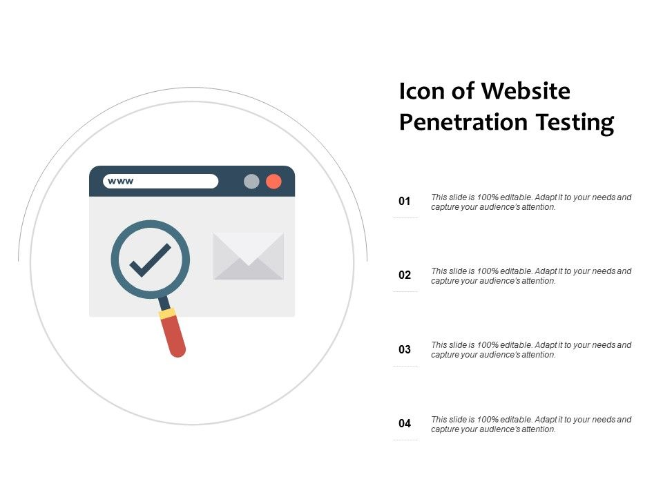 Icon Of Website Penetration Testing