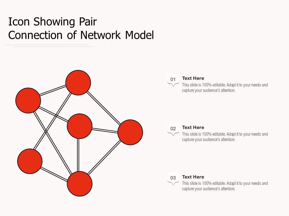 Icon Showing Pair Connection Of Network Model