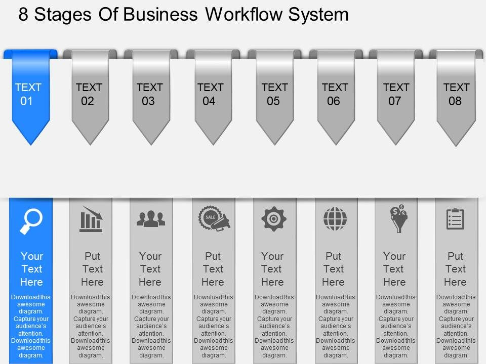 Id eight staged professional business workflow diagram powerpoint ideightstagedprofessionalbusinessworkflowdiagrampowerpointtemplateslide01 ccuart Image collections